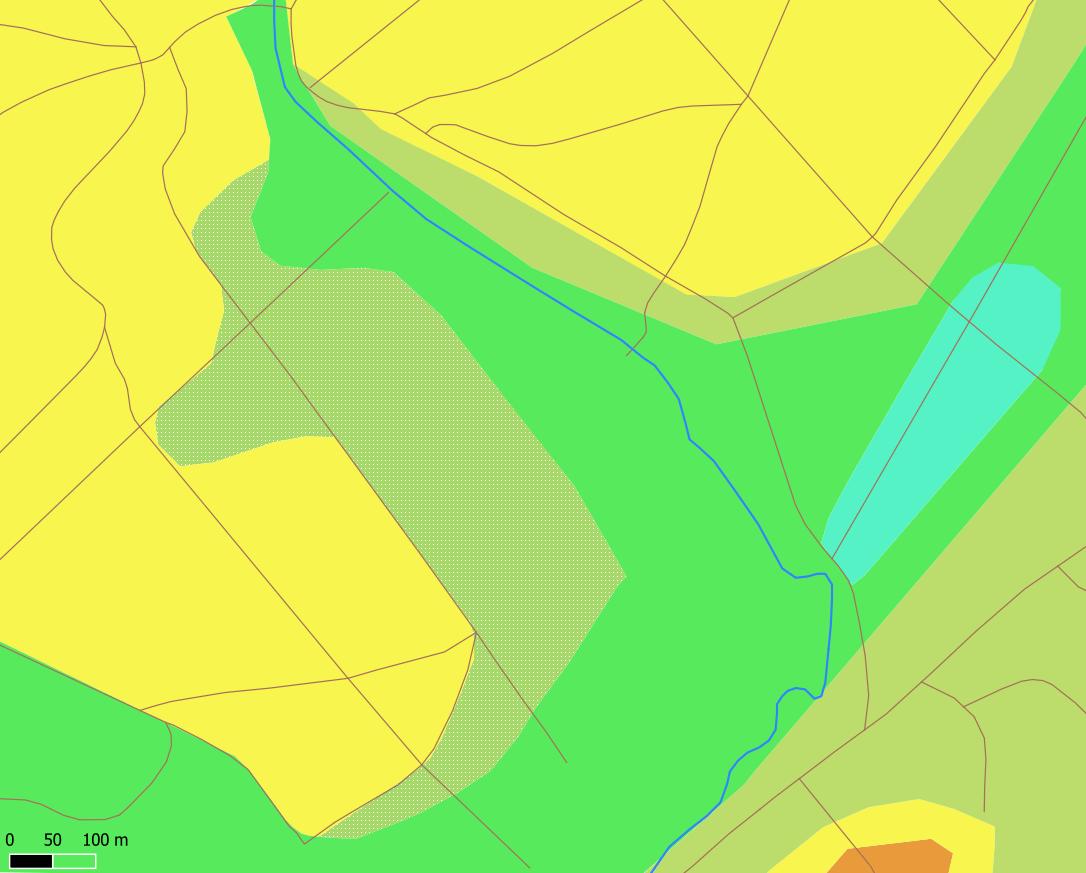 Carte des stations forestières